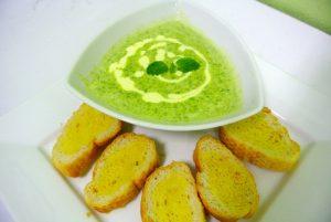 Bordje soep