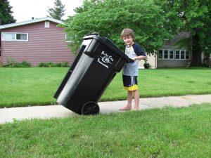 afval opruimen troep kinderen
