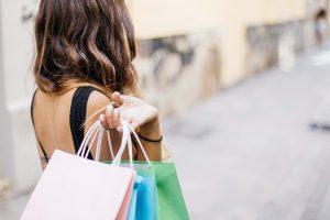 winkelen shoppen vrouw