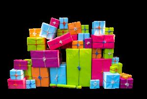 surprises cadeau present
