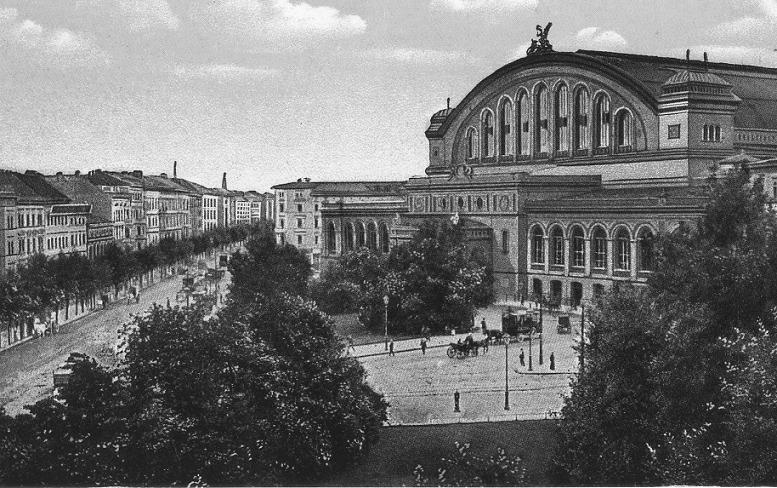 Anhalter Bahnhof, Berlijn