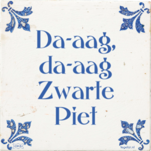zwarte pieten discussie
